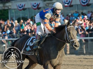 Club American Oaks on Saturday July 20, 2013 at Saratoga Race Course