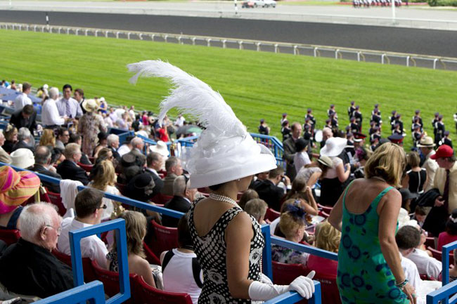 Woodbine Queen's Plate 2014 Hats and Horseshoes Party