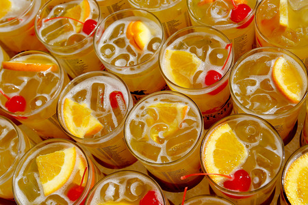 Black-Eyed Susan is the official cocktail of The Preakness.