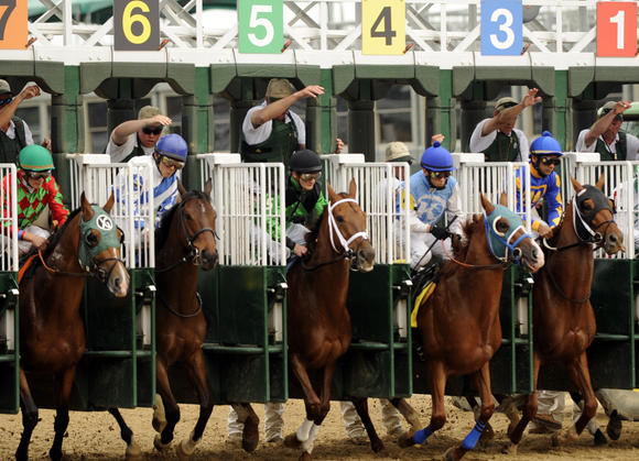 Kentucky Derby 2012 Predictions Lady And The Track
