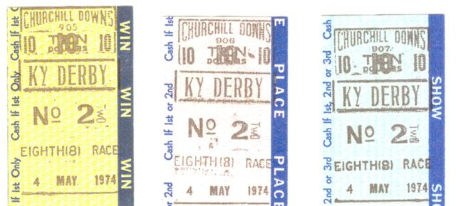 Kentucky derby horse betting ticket 60 gh s how many bitcoins are out there
