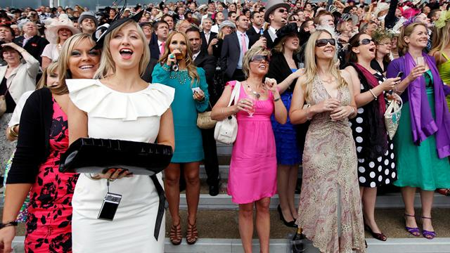 What To Wear To Cashcall Futurity Lady And The Track