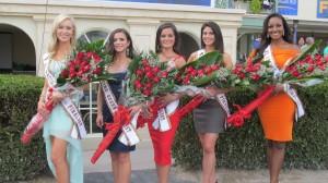 Ms. Racing Queen 2013 Gulfstream Park finalists.