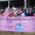 Kentucky Oaks Survivor Parade.