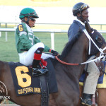 Reporting Star and Eduardo Nunez placed 3rd in the Palm Beach Stakes 2013.