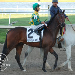 Squall King and Jose Lezcano Palm Beach Stakes 2013.