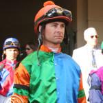 Jockey Corey Lanerie Florida Derby 2013 Gulfstream Park.