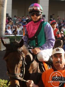 Jockey Elvis Trujillo will be aboard Itsmyluckyday in the 2013 Kentucky Derby.