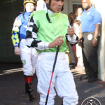 Jockey Jesus Lopez Castanon Florida Derby 2013 Gulfstream Park.