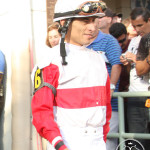 Jockey John Velazquez will be aboard Verrazano for the 2013 Kentucky Derby.