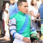 Jockey Paco Lopez Florida Derby 2013 Gulfstream Park.
