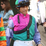 Jockey Elvis Trujillo Florida Derby 2013 Gulfstream Park.