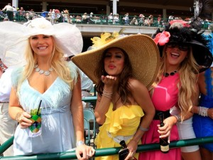 Wear a hat to the Kentucky Derby!