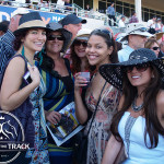 The girls having fun at Gulfstream Park!