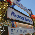 Gulfstream Park was beautifully decorated for the 2013 Florida Derby.
