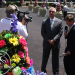 Trainer Todd Pletcher interview before the big race.