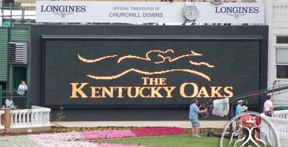 Kentucky Oaks 2013.