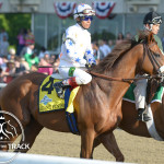 Belmont Stakes Giant Finish