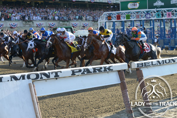 Palace Malice Wins The 2013 Belmont Stakes Lady And The