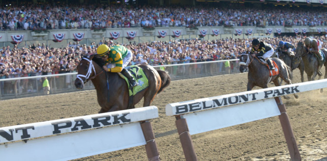 Palace Malice wins the 2013 Belmont Stakes!