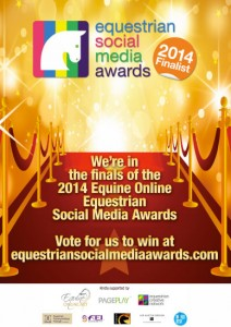 Equestrian Social Media Award Finalist 2014