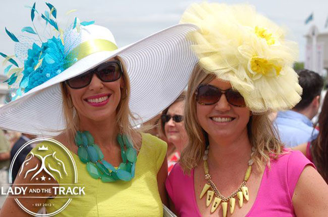 Pick Your Perfect Hat For Your Derby Day Look Lady And The Track