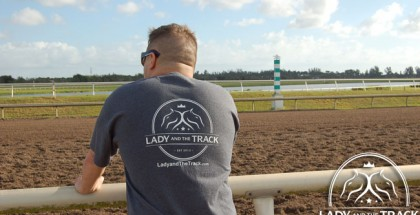 Lady and The Track T-Shirt