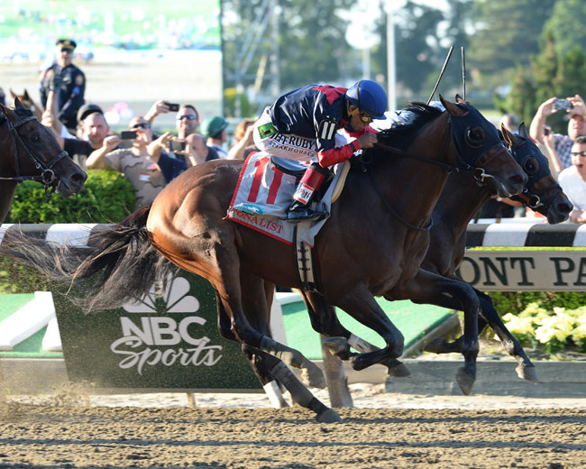 Patience Pays with Tonalist; Belmont Stakes 2014