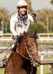 Jockey Tyler Baze