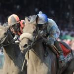 Sweet Reason and jockey Irad Ortiz, Jr. win the Longines Test Stakes at Saratoga
