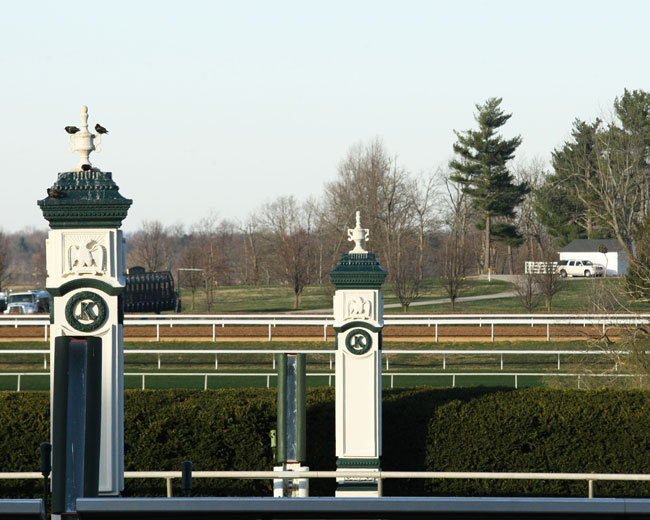 Samantha Nicole Shows Positive Signs In Keeneland Maiden Win