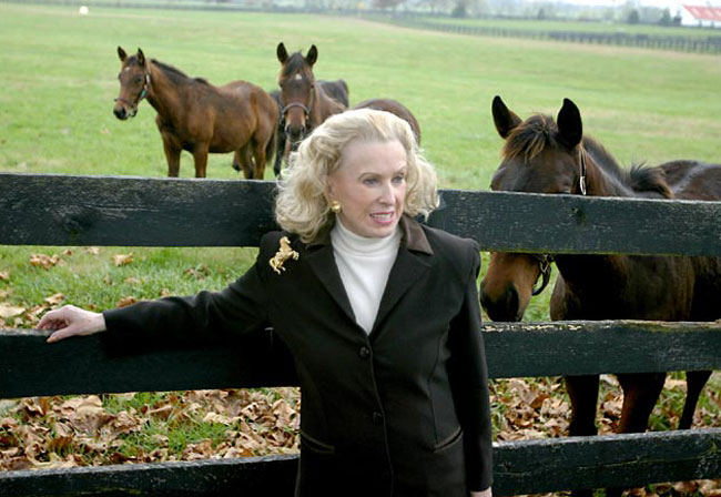 Philanthropist Marylou Whitney First Lady Of The Oaks