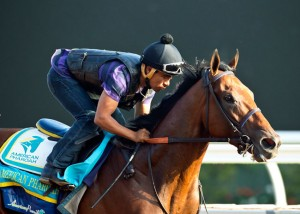 American Pharoah Travers Stakes 2015