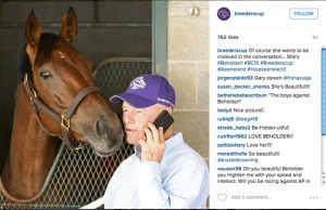Breeders' Cup Instagram
