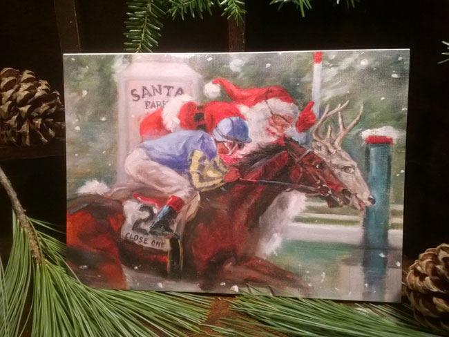 Horse Racing Holiday Cards