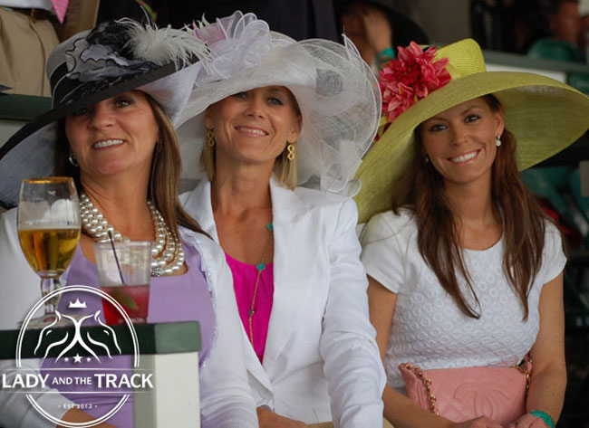 Ladies Day At The Races At Churchill Downs