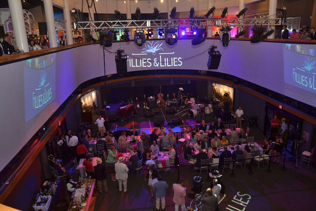 Fillies and Lilies Party Derby Experiences