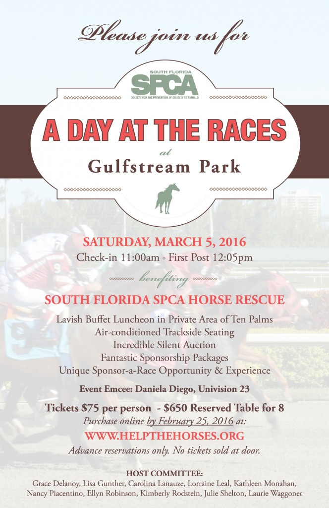 South Florida SPCA A Day At The Races