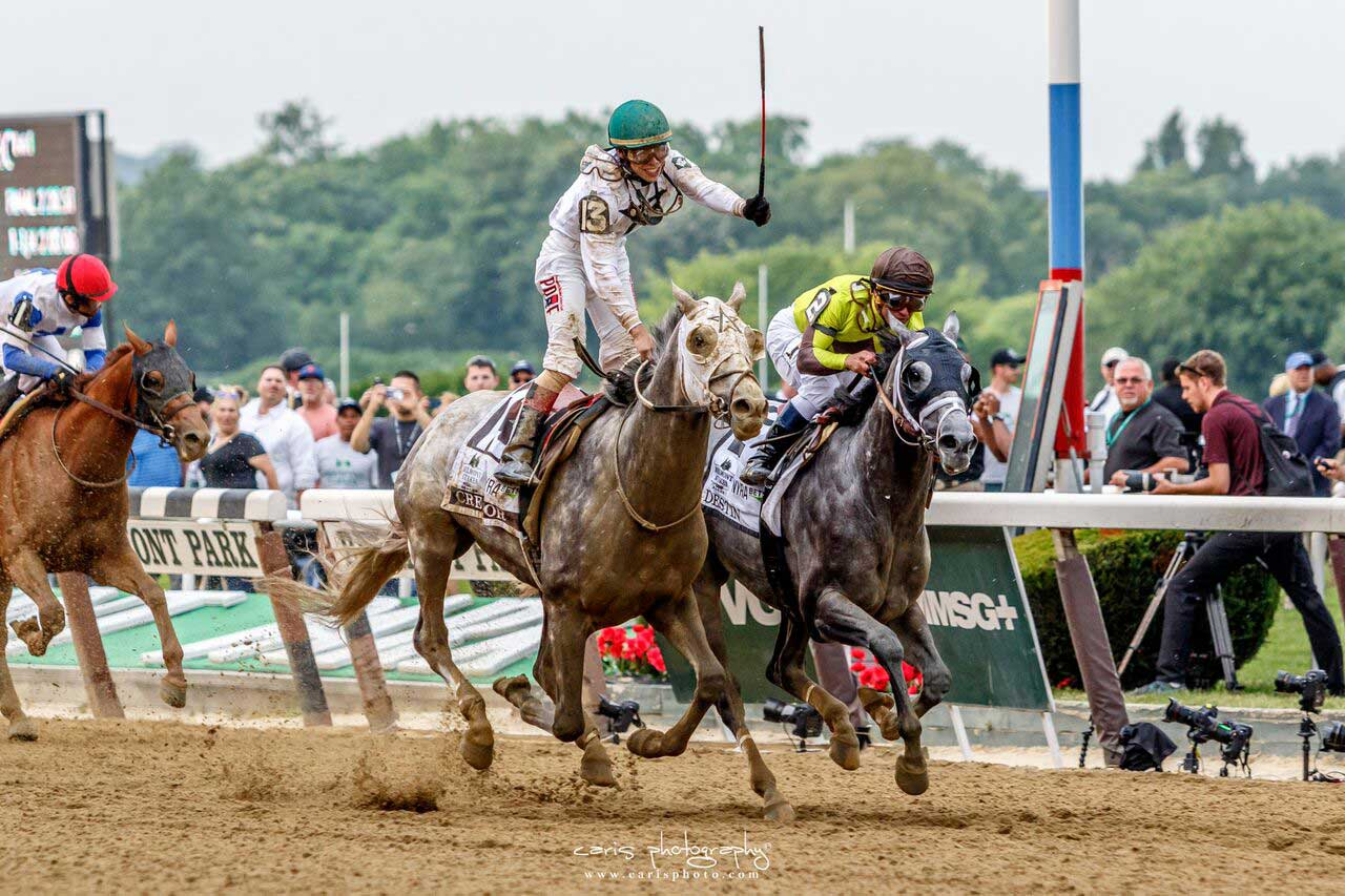 Creator Captures 2016 Belmont Stakes with Late Run