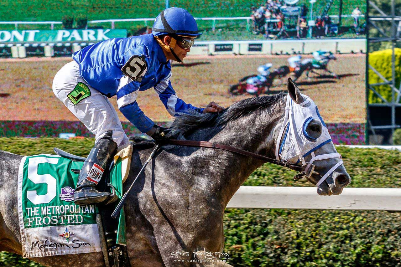 Frosted and Flintshire Steal Belmont Day Spotlight