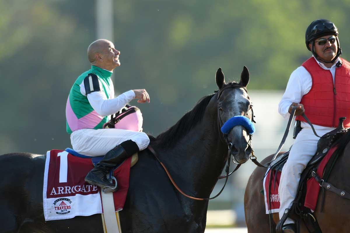 Arrogate Preps For Pegasus World Cup In Sunday S San