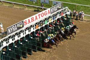 Saratoga is the oldest racecourse in America and holds so much nostalgia. Photo: Robin Buchanan