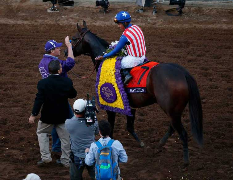 2014 Breeders Cup Classic Bayern Deserved The Win