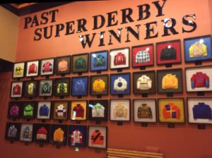 The Super Derby Wall at Louisiana Downs
