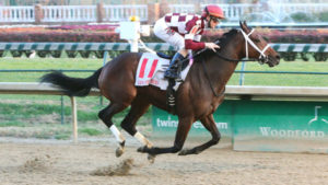 Farrell Wins the Golden Rod Stakes (GII) at Churchill Downs. Photo: Coady Photography