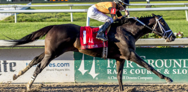 Girvin Announces Arrival on Triple Crown Trail With Risen Star Win