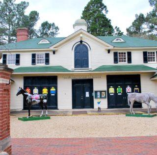 A Quiet Home of Racing Champions in Aiken