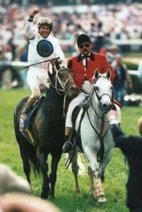 1996 Kentucky Derby winner Grindstone. Photo; Churchill Downs