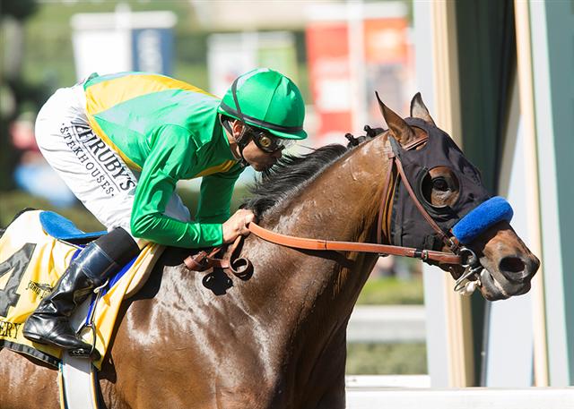 Mastery Wins San Felipe Derby Dreams Dashed With Condylar