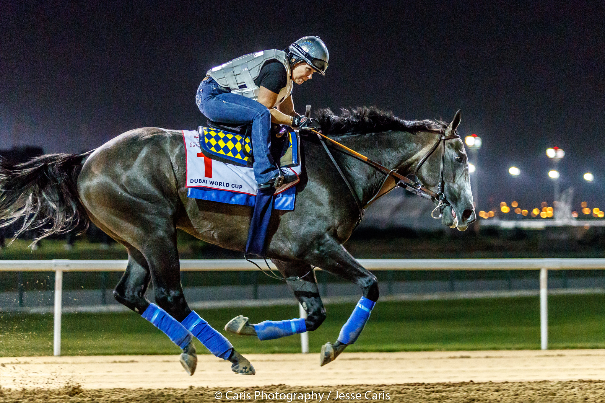 Arrogate Workout3 24 Lady And The Track